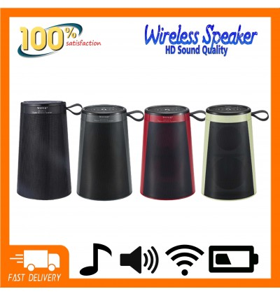 Wireless Bluetooth Speaker WS2815 Bass Speaker Support TF Card/AUX/FM